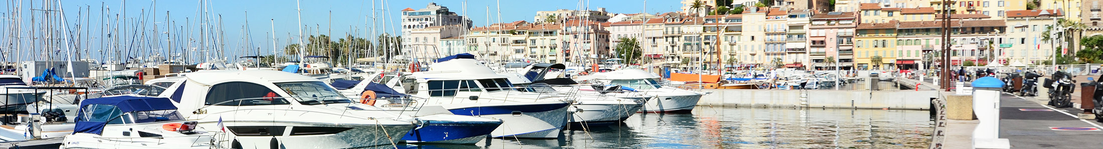 Old haven in Cannes
